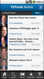 YU Torah - screenshot thumbnail