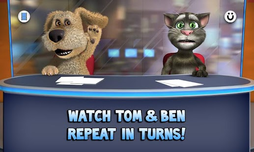 Talking Tom & Ben News Free - screenshot thumbnail
