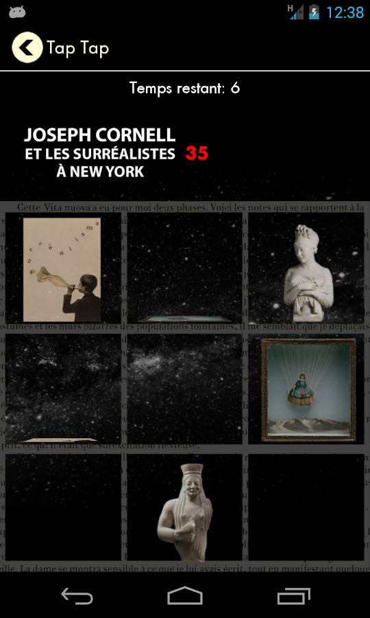 Exposition Joseph Cornell- screenshot