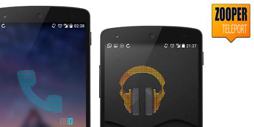 Zooper Teleport Icons Widgets