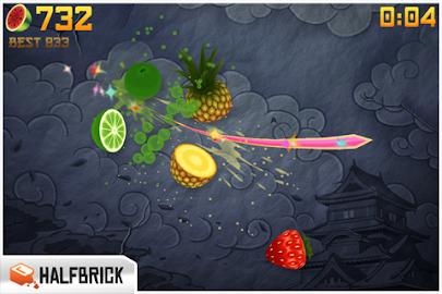 Fruit Ninja Free Screenshot 2