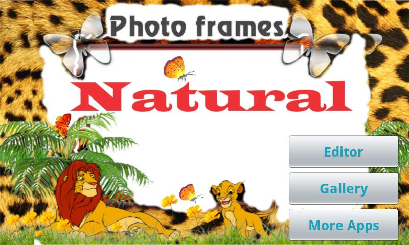 Natural Photo Frames- screenshot