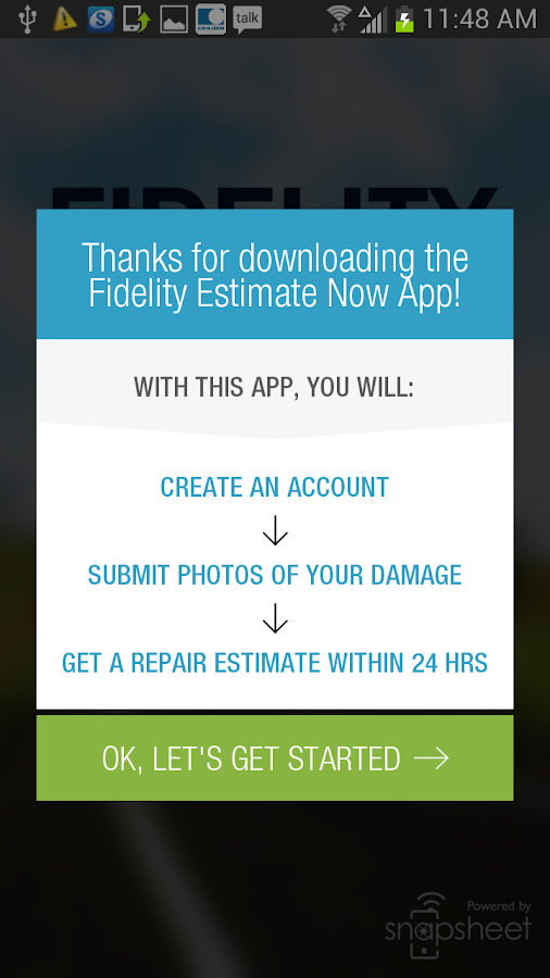 Estimate Now by Fidelity - screenshot