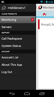 Rackspace Cloud - screenshot thumbnail