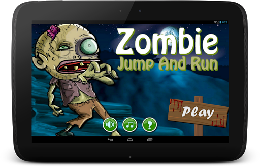Zombie - Jump And Run