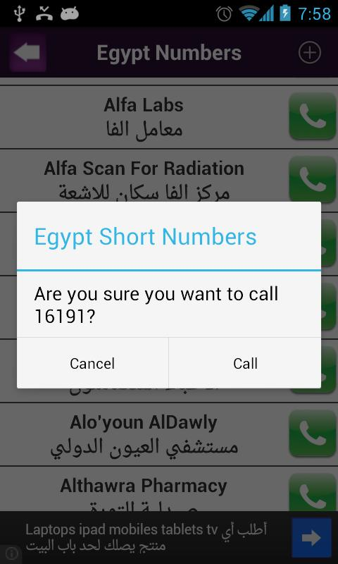 Egypt Numbers- screenshot