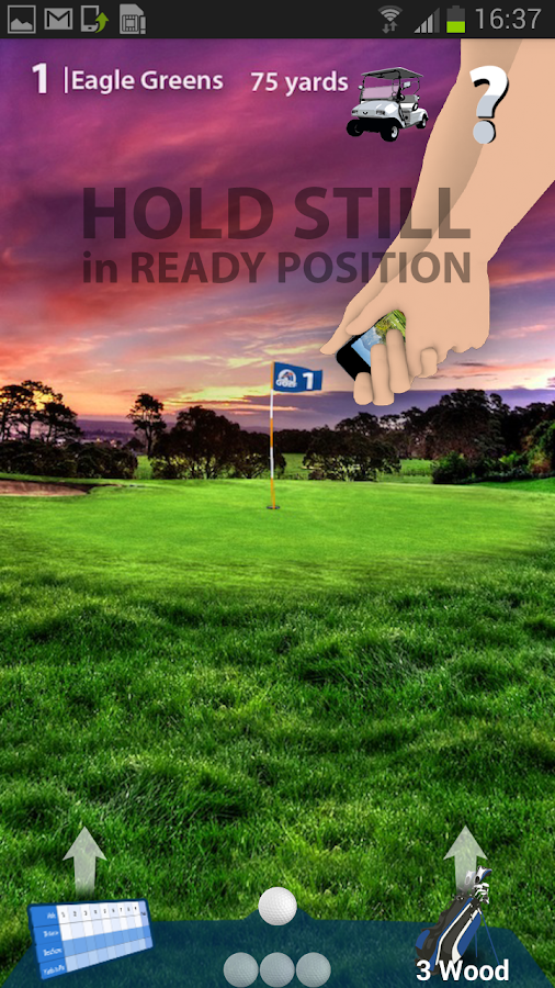 Aquimo Golf Pin High- screenshot