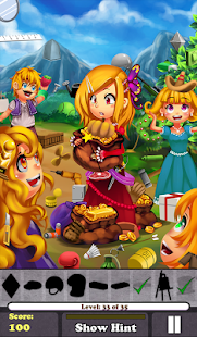 Hidden Object - Rapunzel Free!- screenshot thumbnail