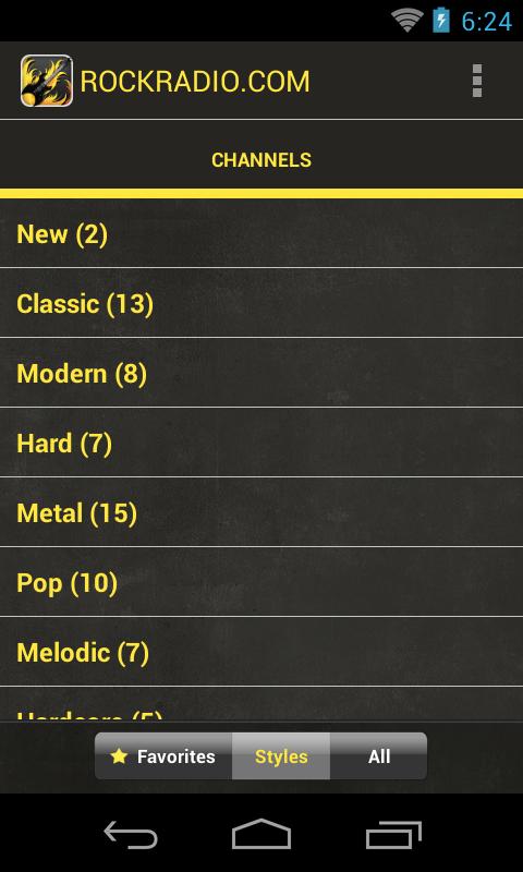 Rock Radio- screenshot
