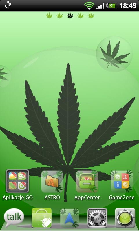 Ganja Theme for GO Launcher- screenshot