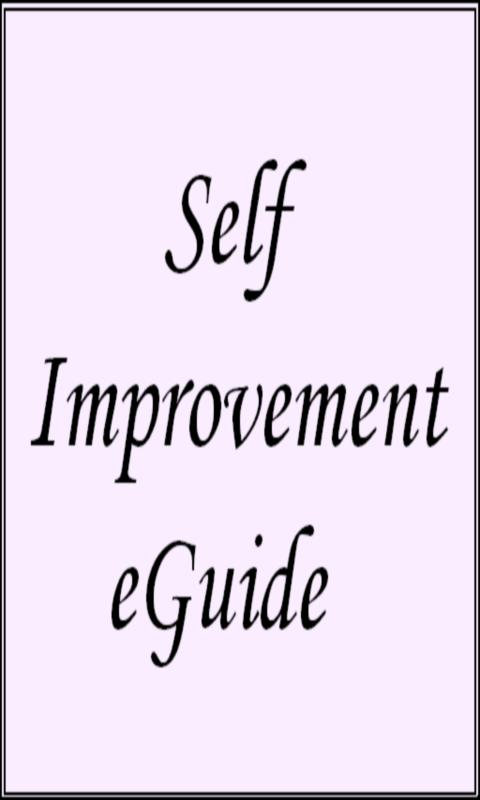 Self Improvement eGuide - screenshot
