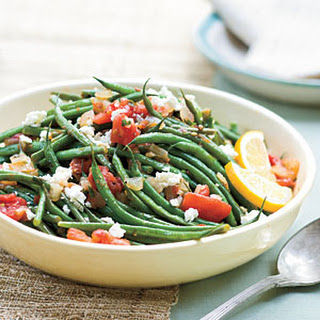 Oregano Green Beans