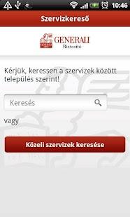Generali Kárbejelentő- screenshot thumbnail
