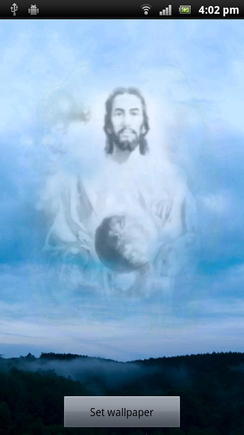 Jesus Live Wallpaper - screenshot