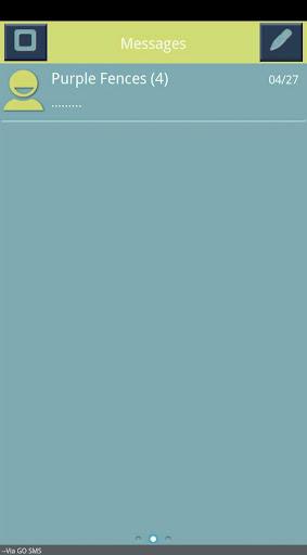 Blue Kiwi Go SMS Pro Theme