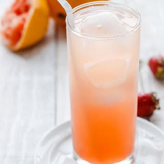 Grapefruit Cooler Mocktail.