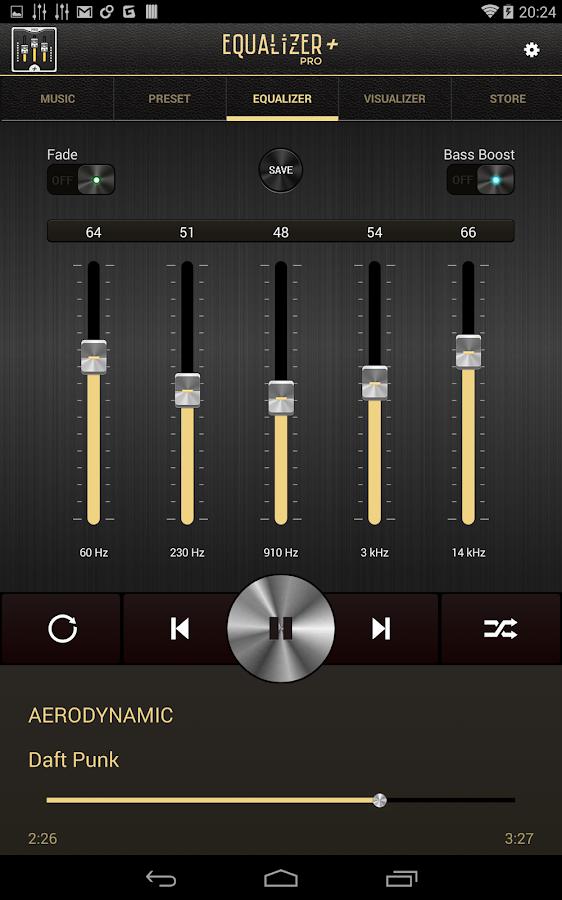 Equalizer + Pro (Music Player) - screenshot