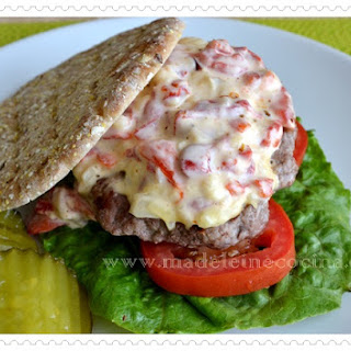 Bell Pepper Hamburger Patties.
