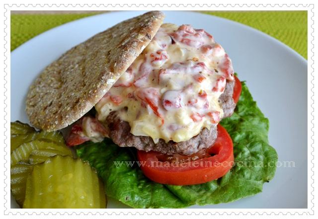 Bell Pepper Hamburger Patties Recipe