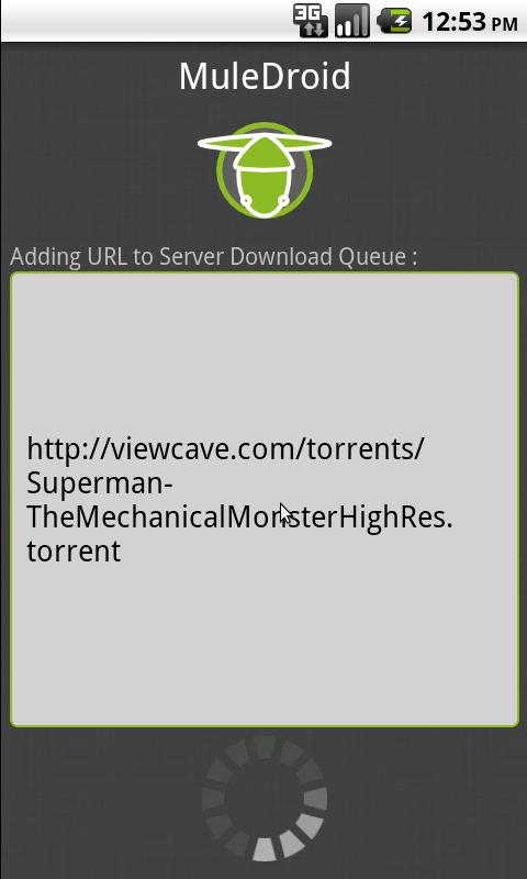 MuleDroid- screenshot