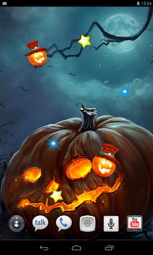 Night Halloween live wallpaper