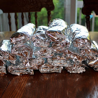 Freezer-Friendly Brown Bag Burritos.