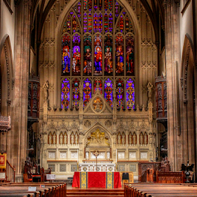 Inside Trinity Church by Gina Gomez - Buildings & Architecture Places of Worship ( church, image of church, trinity church, church photo, catholic church )