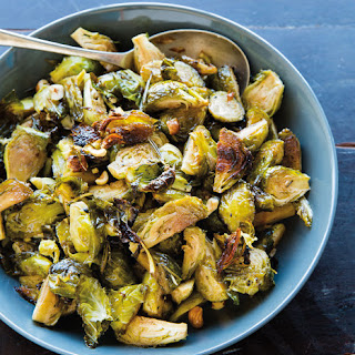 Brussels Sprouts with Honey, Rosemary and Hazelnuts