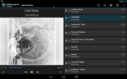 aWARemote for Winamp® Screenshot 8