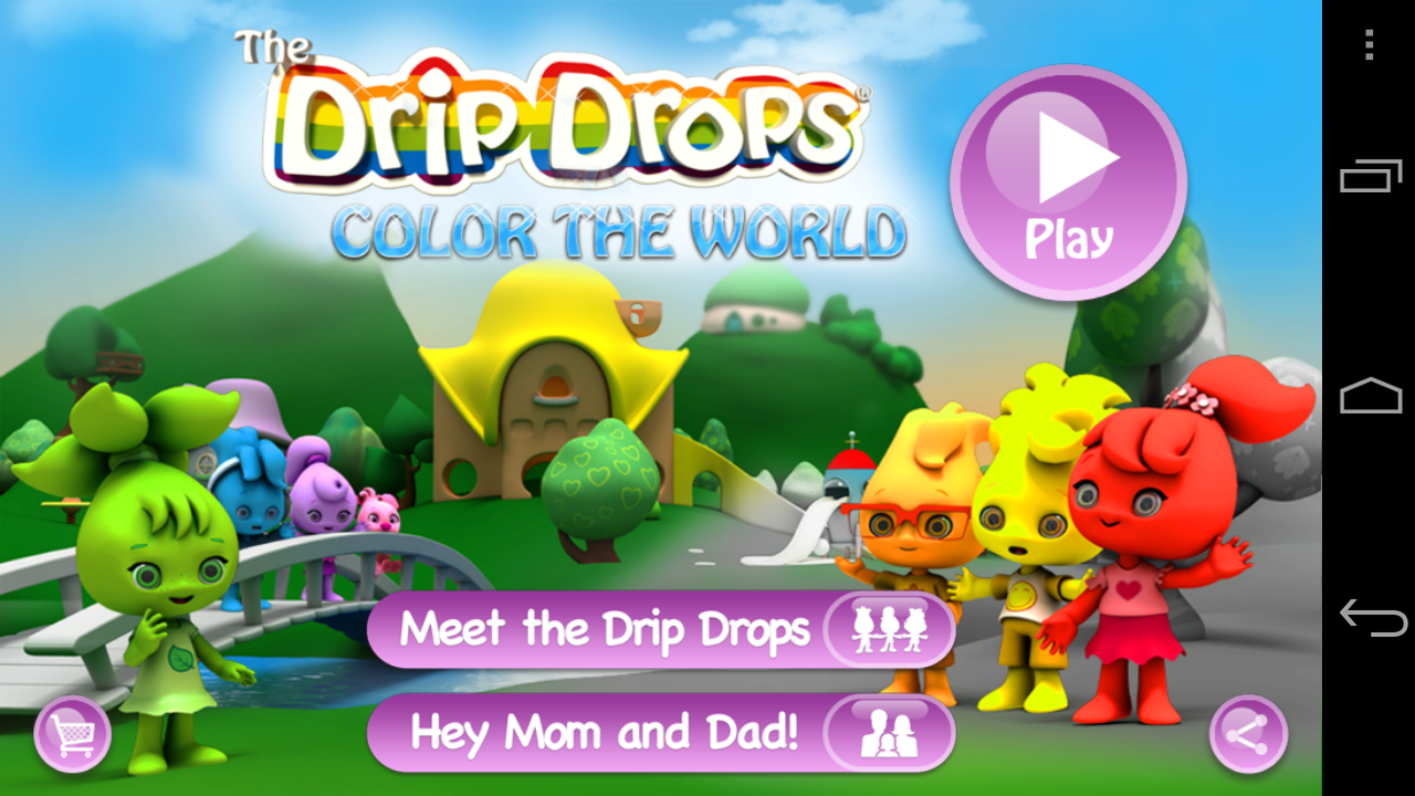 The Drip Drops Color the World- screenshot