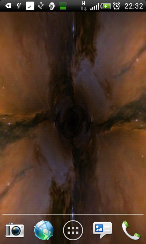 Black Hole Ad-Free LWP - screenshot