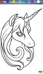 Unicorn Coloring Game