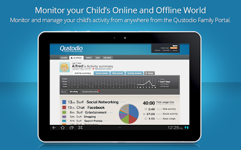 Qustodio Parental Control - screenshot thumbnail