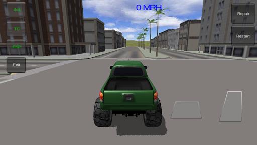 四轮驱动越野驾驶3D