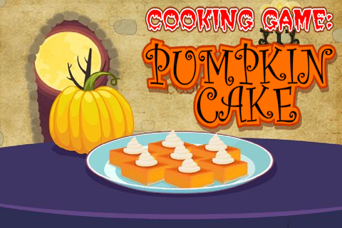 Cooking Game : Pumpkin Cake