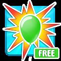 Crush Balloons Free icon