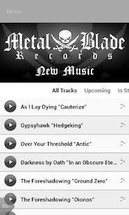Metal Blade Records - screenshot thumbnail