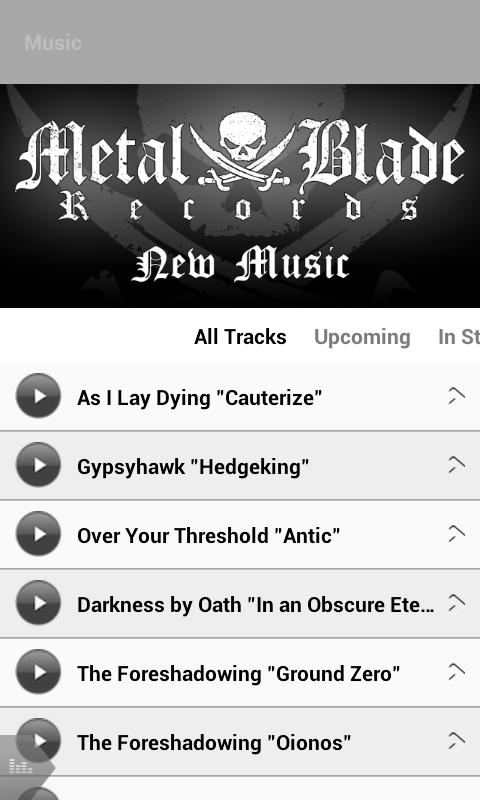 Metal Blade Records - screenshot