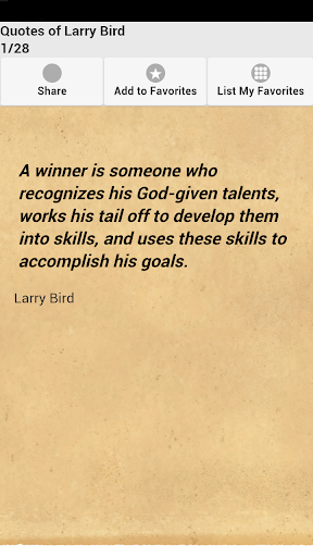 Quotes of Larry Bird