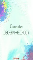 Screenshot of Converter DEC-BIN-HEX-OCT