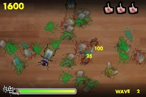 Screenshot of Bugsmasher Bugocalypse Lite