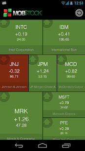 Mob Stock - Market Watcher- screenshot thumbnail