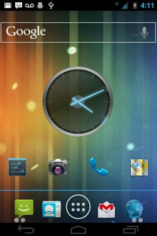 ICS Blue CM7 Theme - screenshot