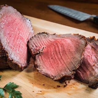 Southwestern Crusted Roast Beef.