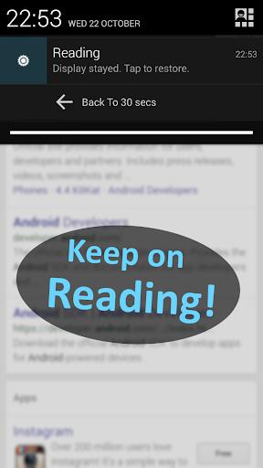 【免費工具App】Screen Keep-APP點子