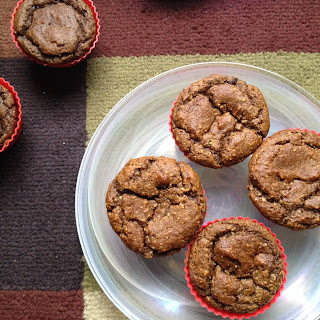 Spiced Sweet Potato Muffins (GF).
