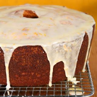 Donnell's Orange-Pumpkin Spice Cake
