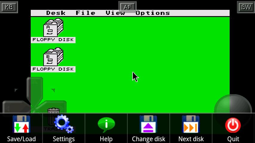 SToid  ( Atari ST emulator )- screenshot