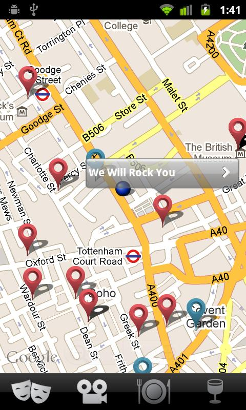 Things to do: London - screenshot