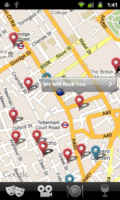 Things to do: London - screenshot